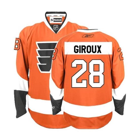 Claude Giroux Philadelphia Flyers Premier Home Reebok Jersey - Orange
