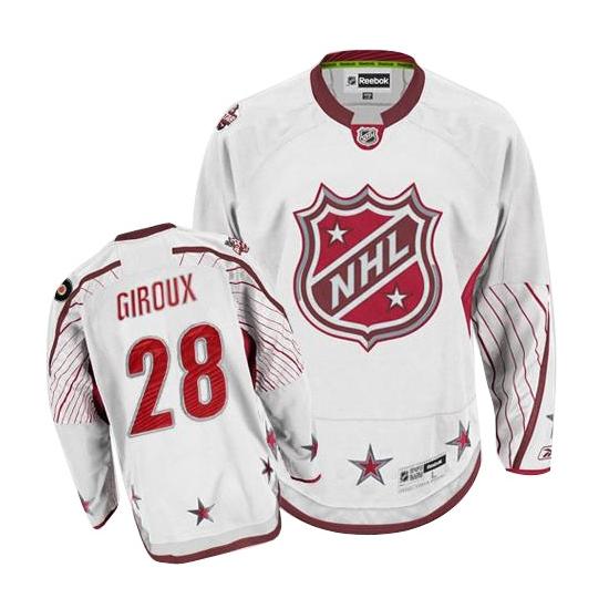 Claude Giroux Philadelphia Flyers Premier 2011 All Star Reebok Jersey - White