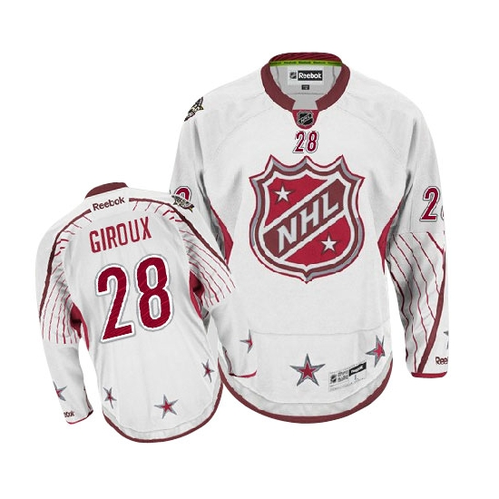 Claude Giroux Philadelphia Flyers Premier 2012 All Star Reebok Jersey - White
