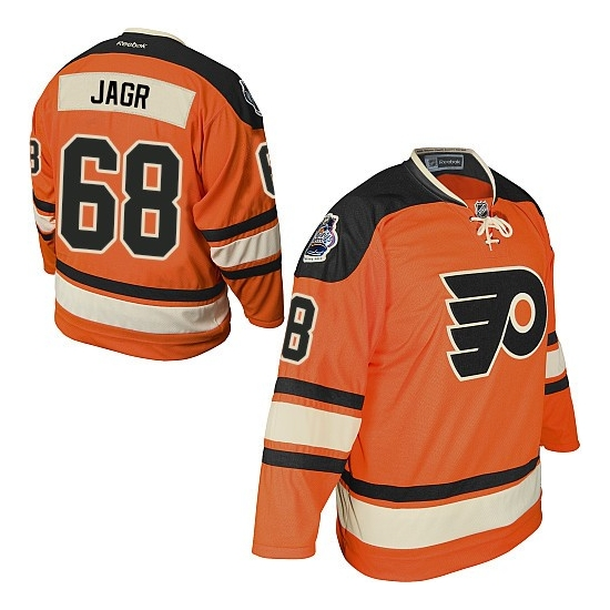 Jaromir Jagr Philadelphia Flyers Youth Authentic Official Winter Classic Reebok Jersey - Orange