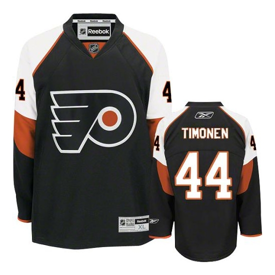 Kimmo Timonen Philadelphia Flyers Authentic Third Reebok Jersey - Black