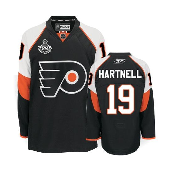Scott Hartnell Philadelphia Flyers Authentic Third Stanley Cup Finals Reebok Jersey - Black