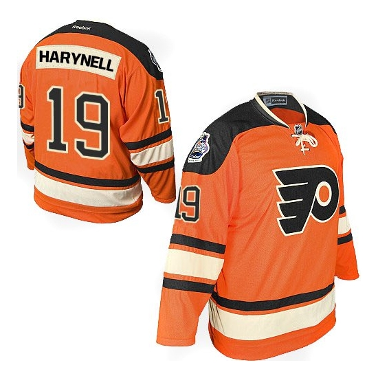 Scott Hartnell Philadelphia Flyers Authentic Official Winter Classic Reebok Jersey - Orange