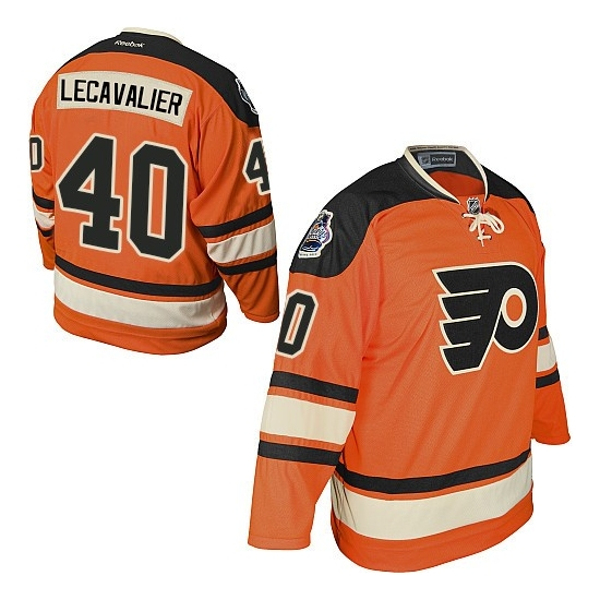 Vincent Lecavalier Philadelphia Flyers Premier Official Winter Classic Reebok Jersey - Orange