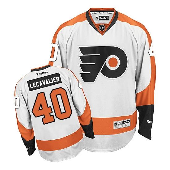 Vincent Lecavalier Philadelphia Flyers Premier Away Reebok Jersey - White