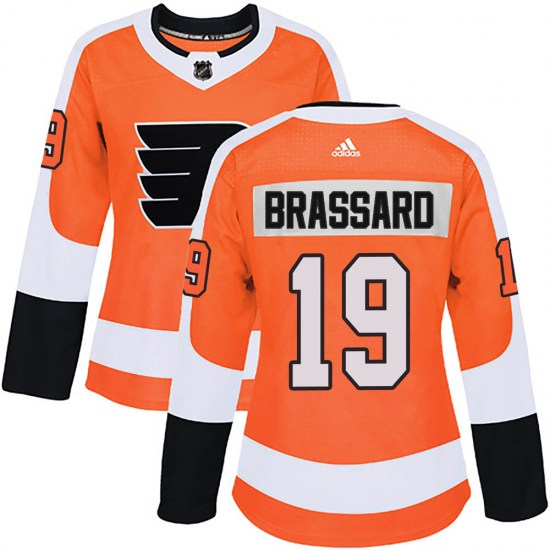 Derick Brassard Philadelphia Flyers Women's Authentic Home Adidas Jersey - Orange