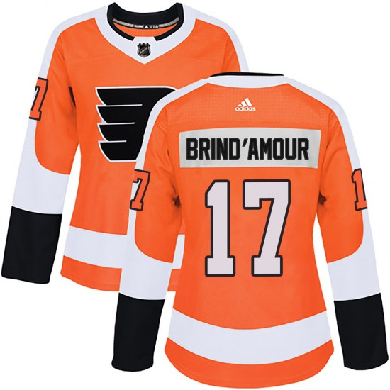 Rod Brind'amour Philadelphia Flyers Women's Authentic Home Adidas Jersey - Orange
