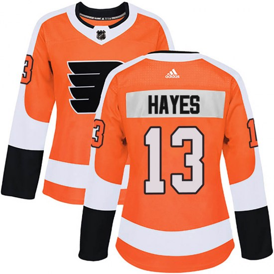 Kevin Hayes Philadelphia Flyers Women's Authentic Home Adidas Jersey - Orange