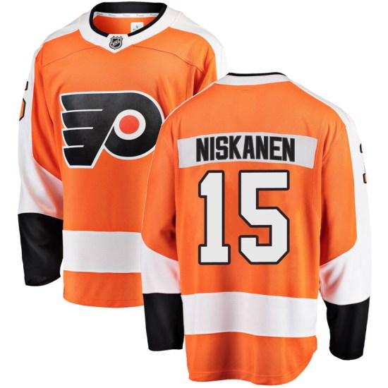 Matt Niskanen Philadelphia Flyers Youth Breakaway Home Fanatics Branded Jersey - Orange