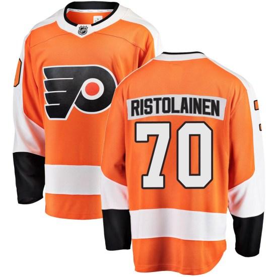 Rasmus Ristolainen Philadelphia Flyers Youth Breakaway Home Fanatics Branded Jersey - Orange
