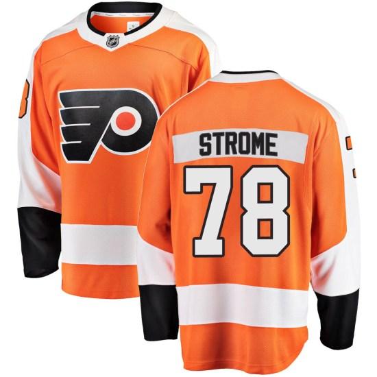 Matthew Strome Philadelphia Flyers Youth Breakaway Home Fanatics Branded Jersey - Orange