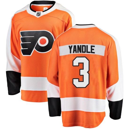 Keith Yandle Philadelphia Flyers Youth Breakaway Home Fanatics Branded Jersey - Orange