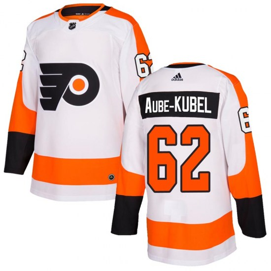 Nicolas Aube-Kubel Philadelphia Flyers Youth Authentic Adidas Jersey - White