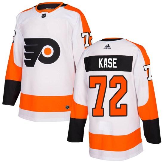 David Kase Philadelphia Flyers Youth Authentic Adidas Jersey - White