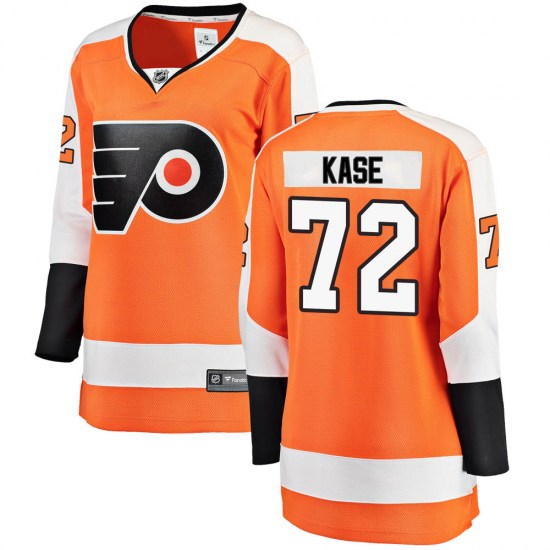 David Kase Philadelphia Flyers Women's Breakaway Home Fanatics Branded Jersey - Orange