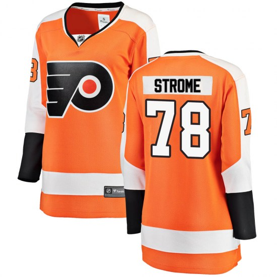 Matthew Strome Philadelphia Flyers Women's Breakaway Home Fanatics Branded Jersey - Orange