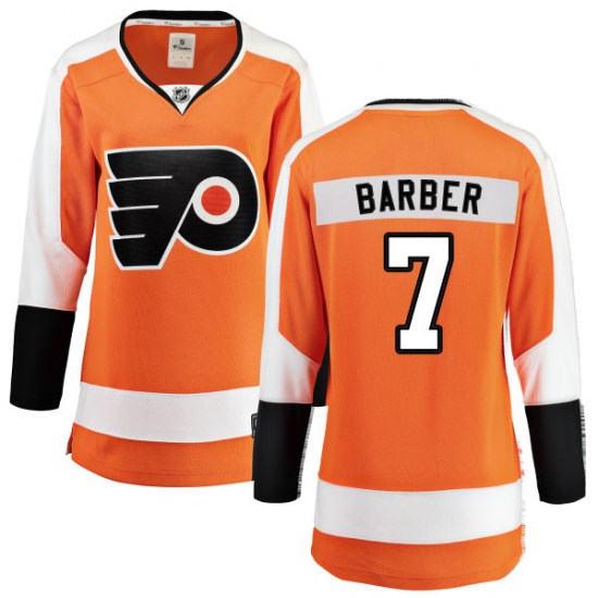 Bill Barber Philadelphia Flyers Women's Breakaway Home Fanatics Branded Jersey - Orange