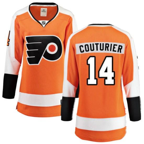 Sean Couturier Philadelphia Flyers Women's Breakaway Home Fanatics Branded Jersey - Orange