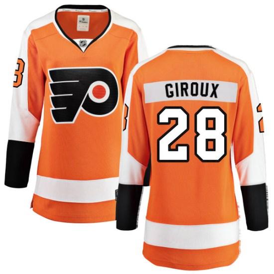Claude Giroux Philadelphia Flyers Women's Breakaway Home Fanatics Branded Jersey - Orange