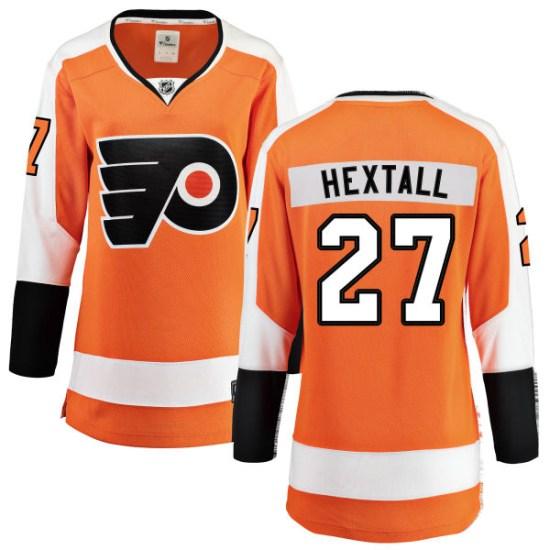 Ron Hextall Philadelphia Flyers Women's Breakaway Home Fanatics Branded Jersey - Orange