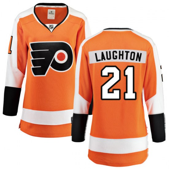 Scott Laughton Philadelphia Flyers Women's Breakaway Home Fanatics Branded Jersey - Orange