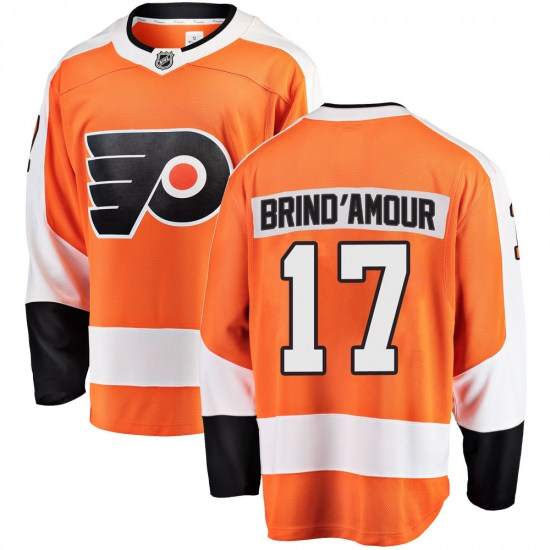 Rod Brind'amour Philadelphia Flyers Breakaway Home Fanatics Branded Jersey - Orange