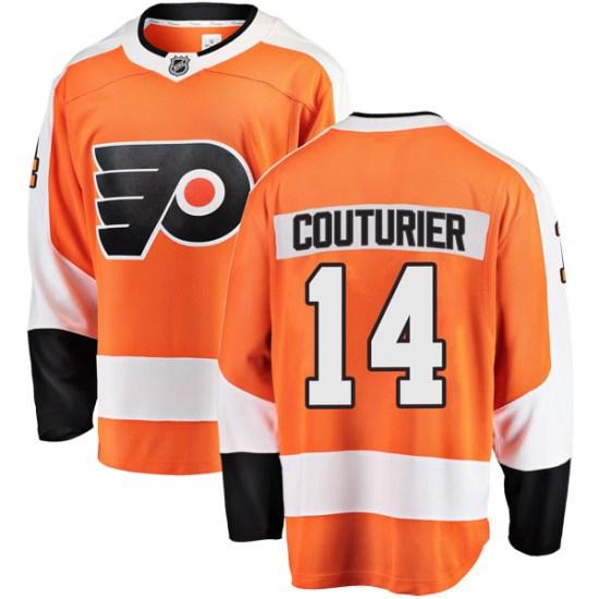 Sean Couturier Philadelphia Flyers Breakaway Home Fanatics Branded Jersey - Orange
