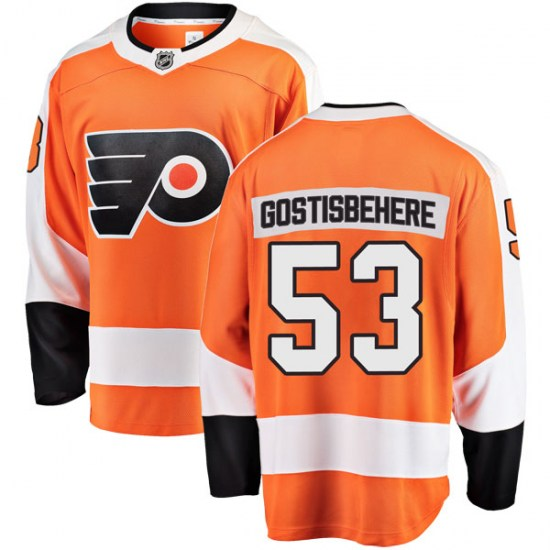 Shayne Gostisbehere Philadelphia Flyers Breakaway Home Fanatics Branded Jersey - Orange