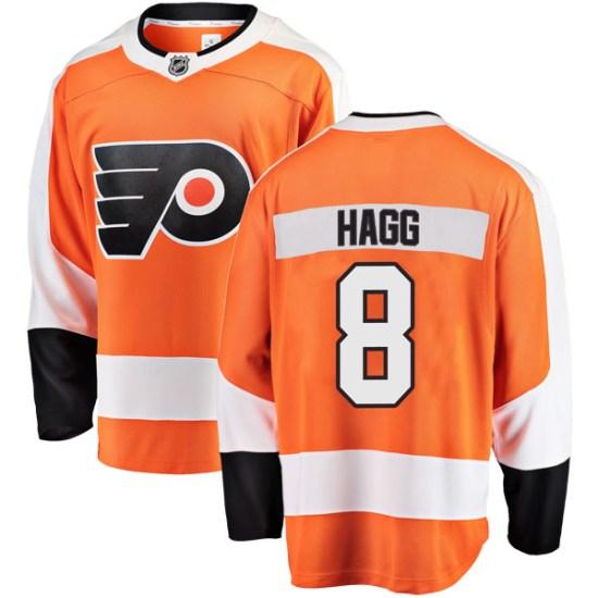 Robert Hagg Philadelphia Flyers Breakaway Home Fanatics Branded Jersey - Orange
