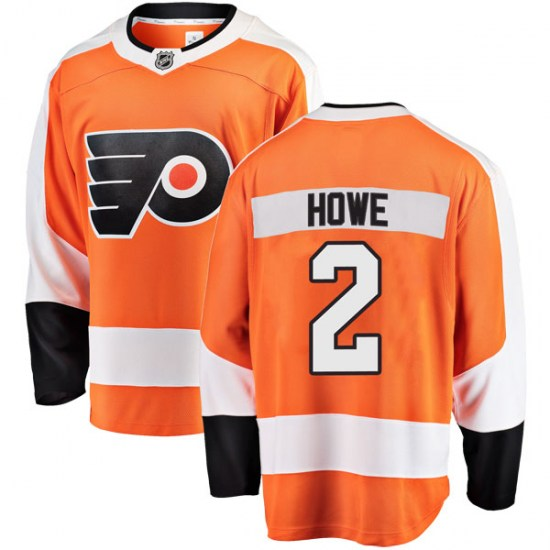 Mark Howe Philadelphia Flyers Breakaway Home Fanatics Branded Jersey - Orange