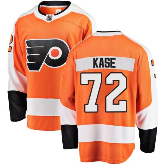 David Kase Philadelphia Flyers Breakaway Home Fanatics Branded Jersey - Orange