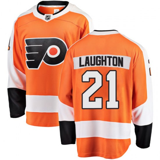 Scott Laughton Philadelphia Flyers Breakaway Home Fanatics Branded Jersey - Orange