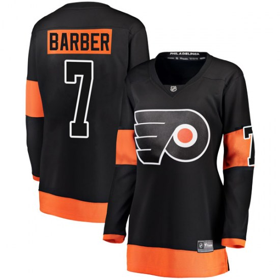 Bill Barber Philadelphia Flyers Women's Breakaway Alternate Fanatics Branded Jersey - Black