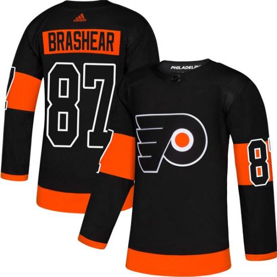 Donald Brashear Philadelphia Flyers Authentic Alternate Adidas Jersey - Black