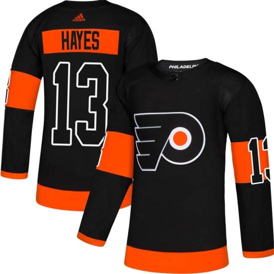 Kevin Hayes Philadelphia Flyers Authentic Alternate Adidas Jersey - Black