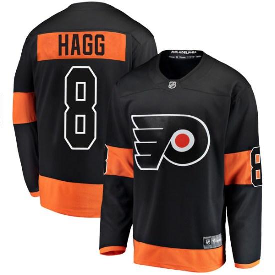 Robert Hagg Philadelphia Flyers Breakaway Alternate Fanatics Branded Jersey - Black