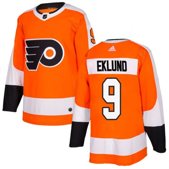 Pelle Eklund Philadelphia Flyers Authentic Home Adidas Jersey - Orange
