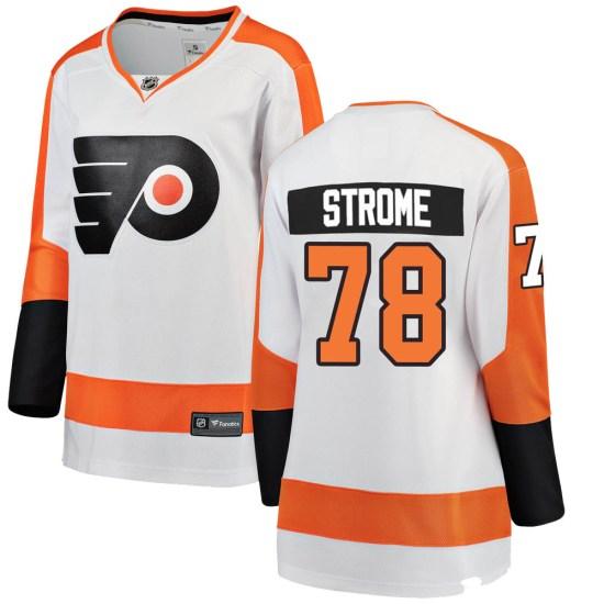 Matthew Strome Philadelphia Flyers Women's Breakaway Away Fanatics Branded Jersey - White