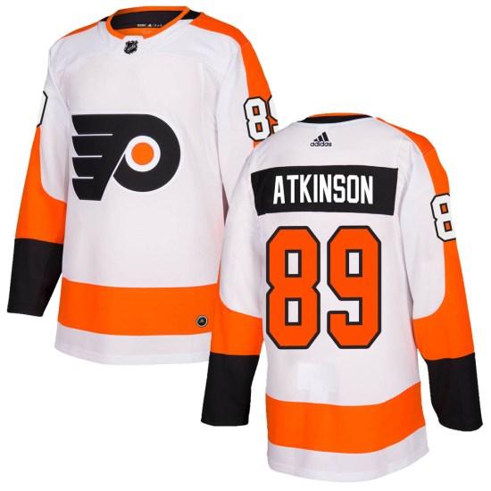 Cam Atkinson Philadelphia Flyers Authentic Adidas Jersey - White