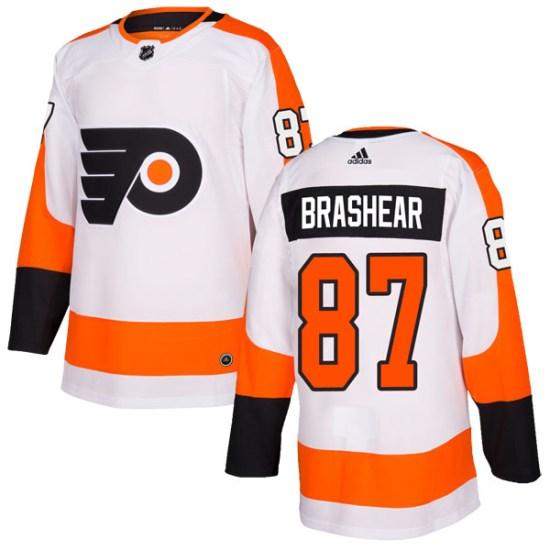 Donald Brashear Philadelphia Flyers Authentic Adidas Jersey - White