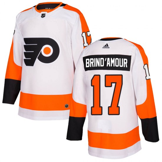 Rod Brind'amour Philadelphia Flyers Authentic Adidas Jersey - White