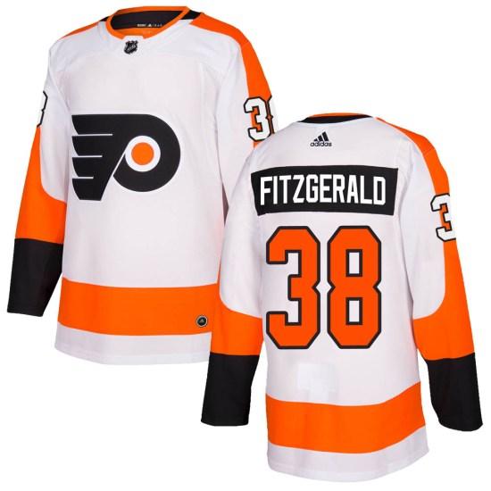 Ryan Fitzgerald Philadelphia Flyers Authentic Adidas Jersey - White