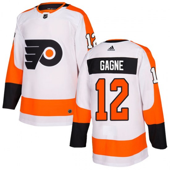 Simon Gagne Philadelphia Flyers Authentic Adidas Jersey - White