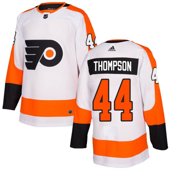 Nate Thompson Philadelphia Flyers Authentic ized Adidas Jersey - White