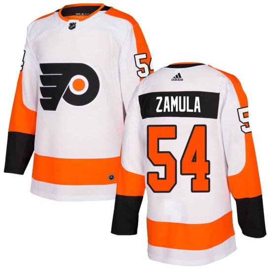 Egor Zamula Philadelphia Flyers Authentic ized Adidas Jersey - White