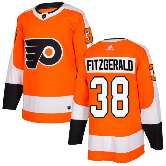 Ryan Fitzgerald Philadelphia Flyers Youth Authentic Home Adidas Jersey - Orange