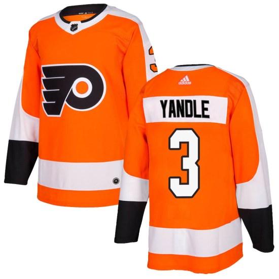Keith Yandle Philadelphia Flyers Youth Authentic Home Adidas Jersey - Orange