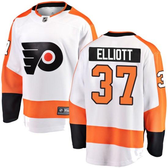 Brian Elliott Philadelphia Flyers Youth Breakaway Away Fanatics Branded Jersey - White