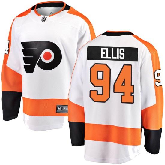 Ryan Ellis Philadelphia Flyers Youth Breakaway Away Fanatics Branded Jersey - White