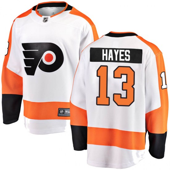 Kevin Hayes Philadelphia Flyers Youth Breakaway Away Fanatics Branded Jersey - White